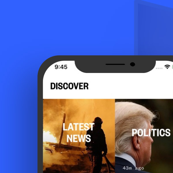 NBC News - A new generation of TV news apps