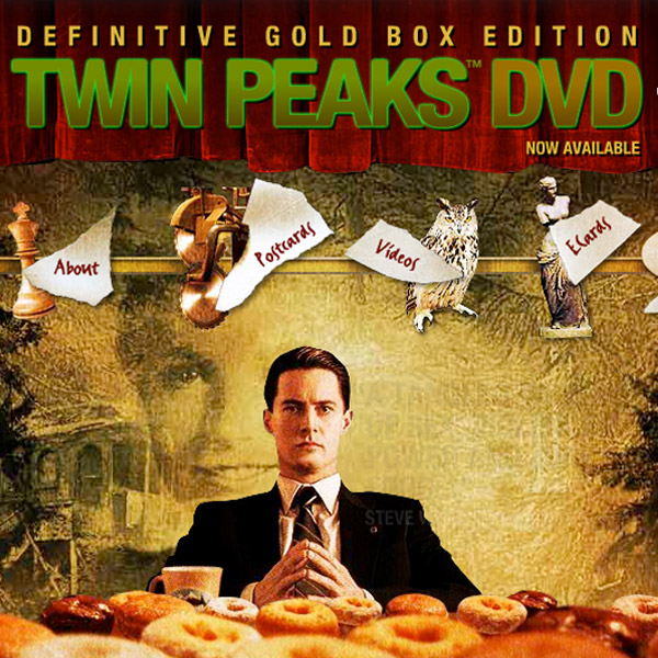 Twin Peaks - Promotional website for DVD release
